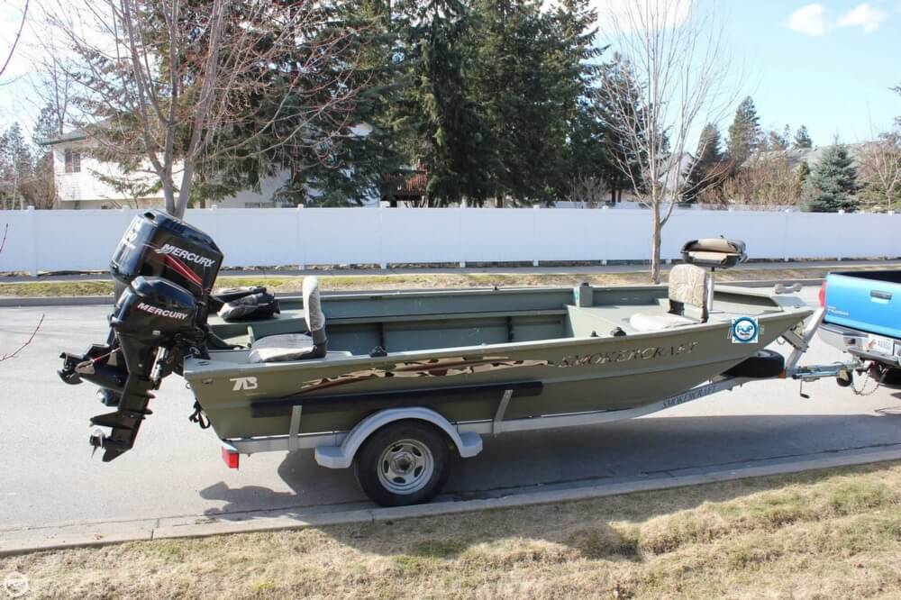 2007 Smoker Craft boat for sale, model of the boat is 1660 Sportsman Tiller & Image # 20 of 41