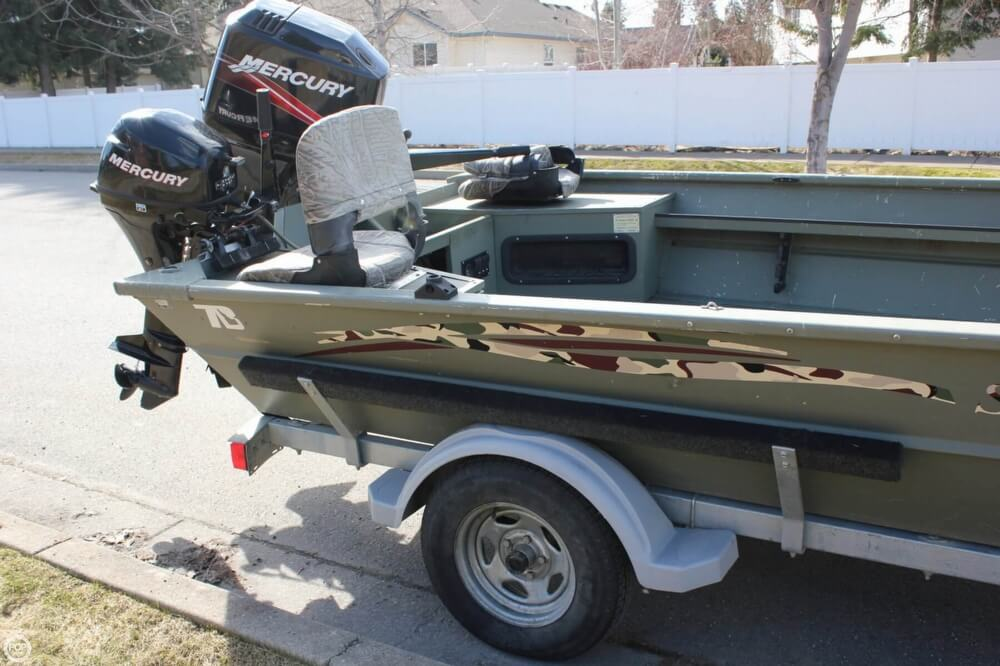 2007 Smoker Craft boat for sale, model of the boat is 1660 Sportsman Tiller & Image # 21 of 41