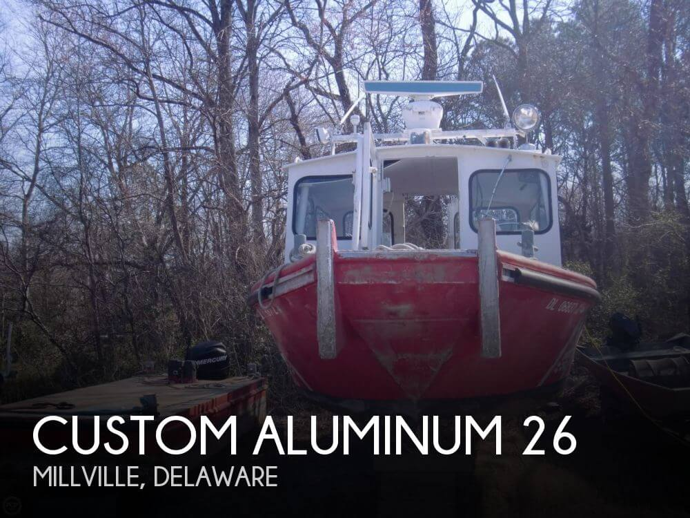 Used Boats For Sale in Delaware by owner | 1972 Custom Aluminum 26