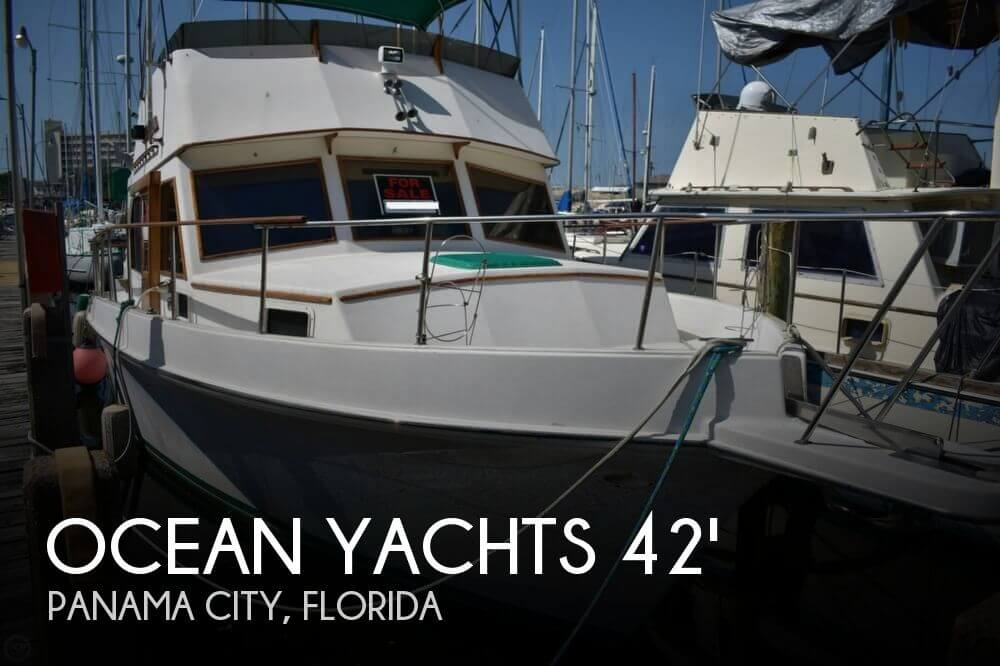 1980 OCEAN YACHTS 42 TRAWLER for sale