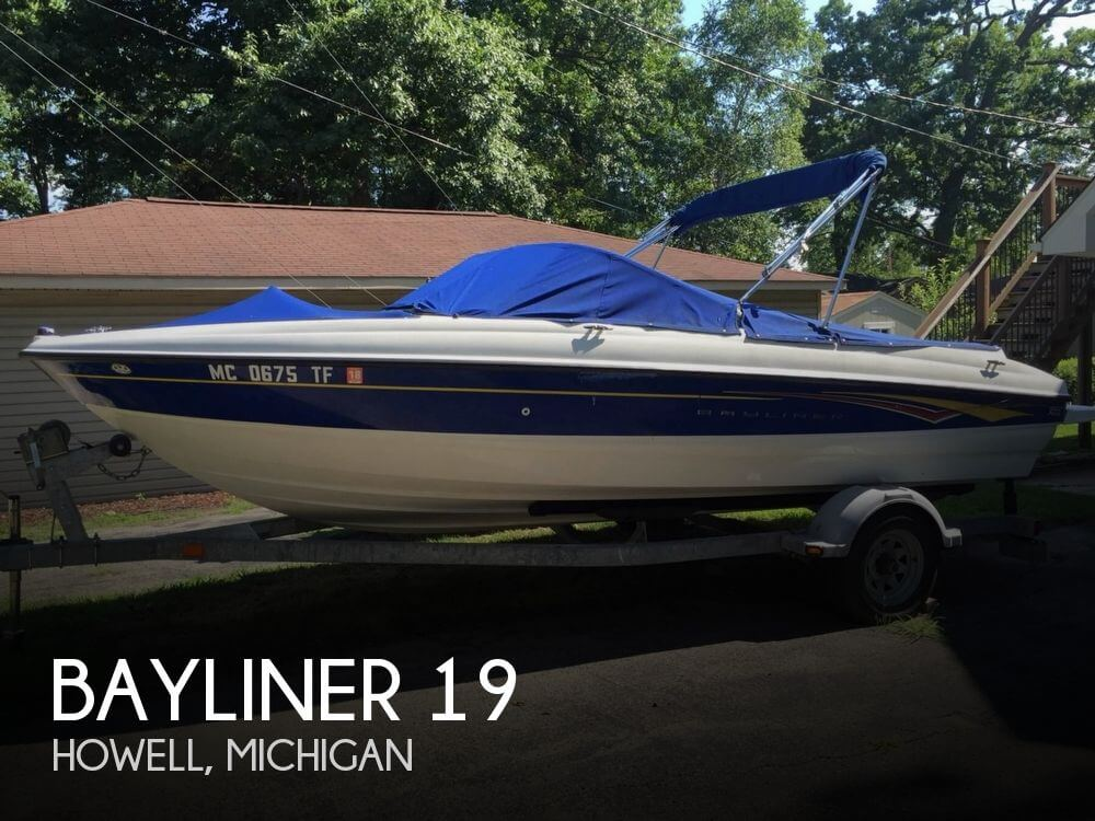 Used Bayliner Boats For Sale in Michigan by owner | 2008 Bayliner 19