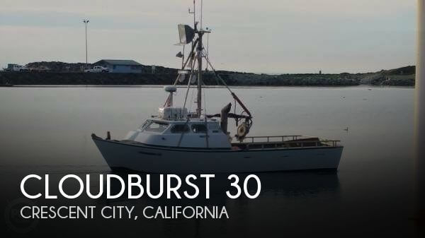 Used Boats For Sale by owner | 1983 Cloudburst 30