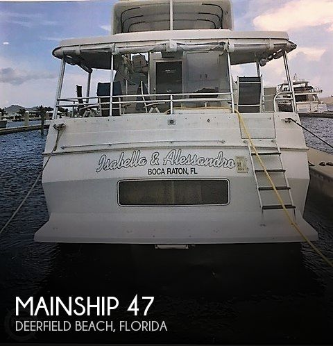 Used Mainship Motoryachts For Sale by owner | 1997 Mainship 47