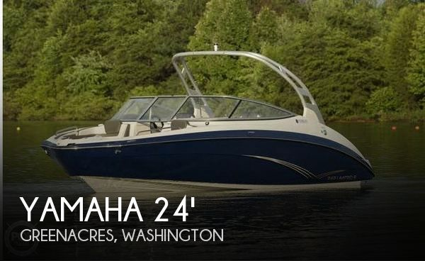 Used Boats For Sale in Spokane, Washington by owner | 2015 Yamaha 24