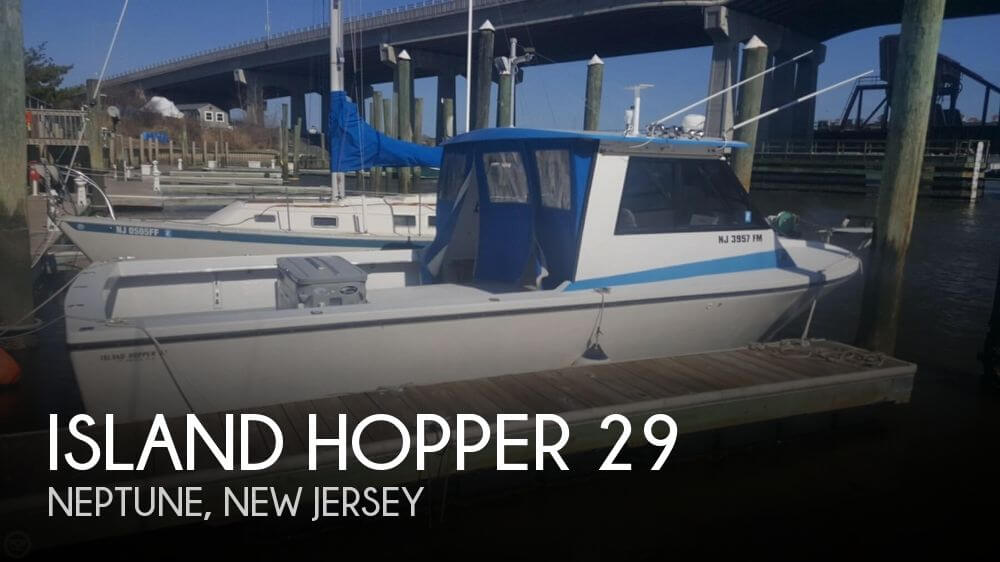 Used Island Hopper Boats For Sale by owner | 1989 Island Hopper 29