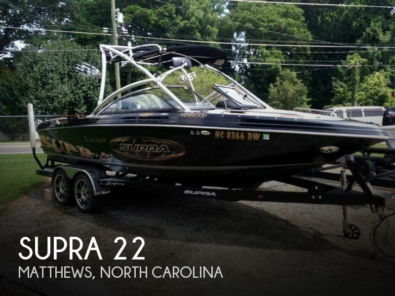 Used Ski Boats For Sale in North Carolina by owner | 2009 Supra 22