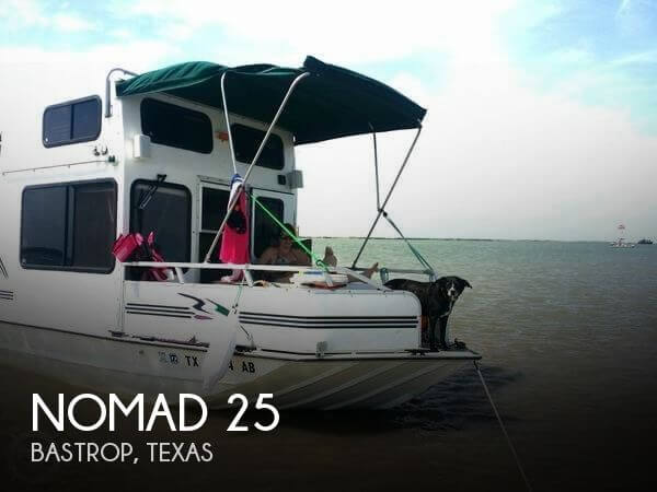 Used Houseboats For Sale in Texas by owner | 2006 Nomad 25