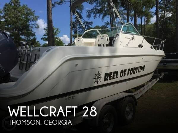 Used Boats For Sale in Augusta, Georgia by owner | 1999 Wellcraft 28