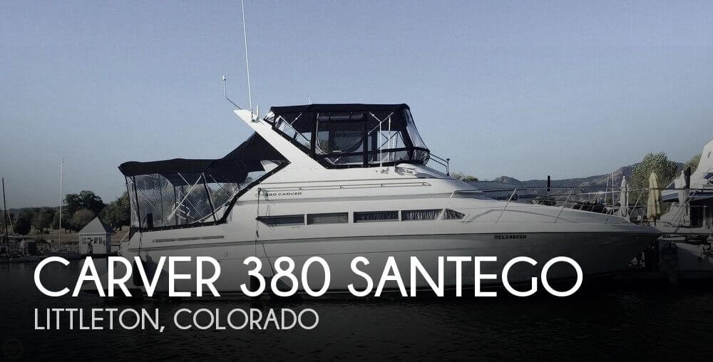 Used Boats For Sale in Denver, Colorado by owner | 1996 Carver 380 Santego