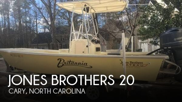 Used Boats For Sale in Greensboro, North Carolina by owner | 2015 Jones Brothers 20