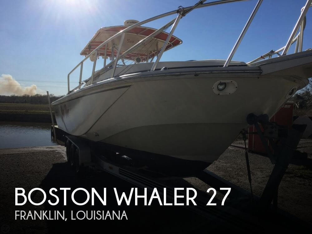 Used Boston Whaler 27 Boats For Sale by owner | 1986 Boston Whaler 27
