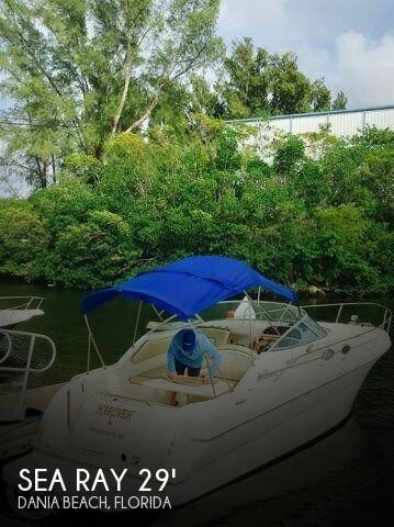 Used Sea Ray 29 Boats For Sale by owner   1999 Sea Ray 29