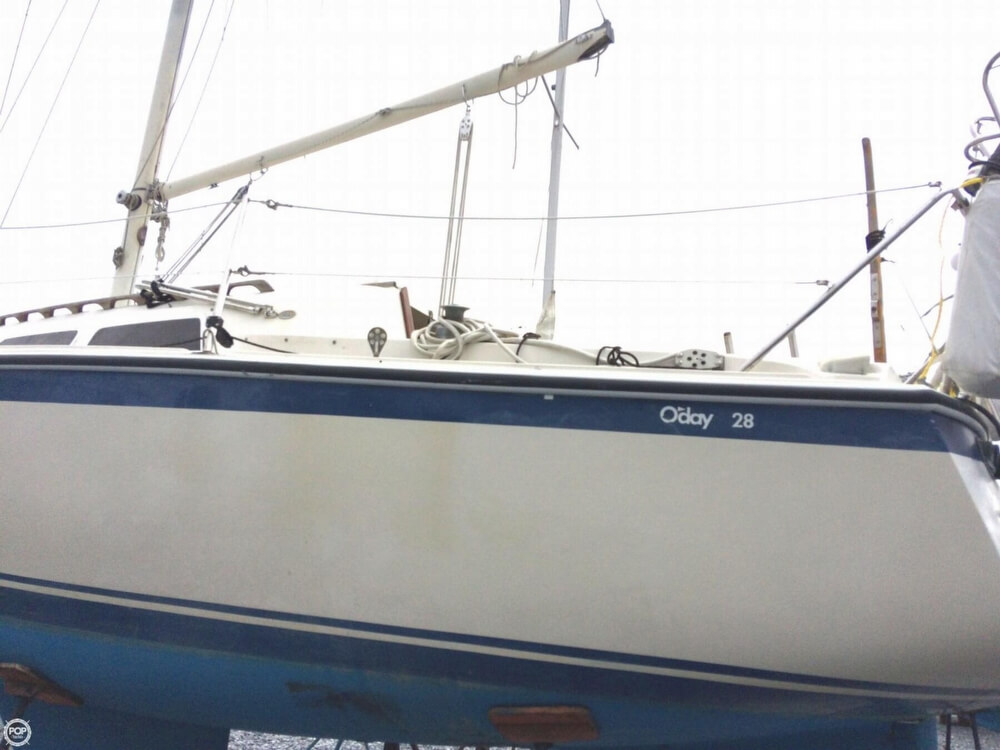 1980 O'day boat for sale, model of the boat is 28 & Image # 7 of 40