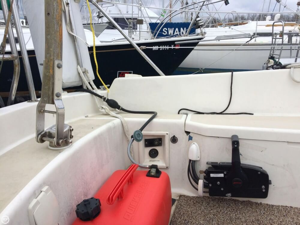 1980 O'day boat for sale, model of the boat is 28 & Image # 20 of 40