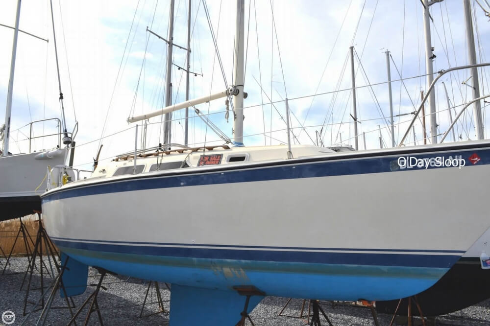 1980 O'day boat for sale, model of the boat is 28 & Image # 2 of 40