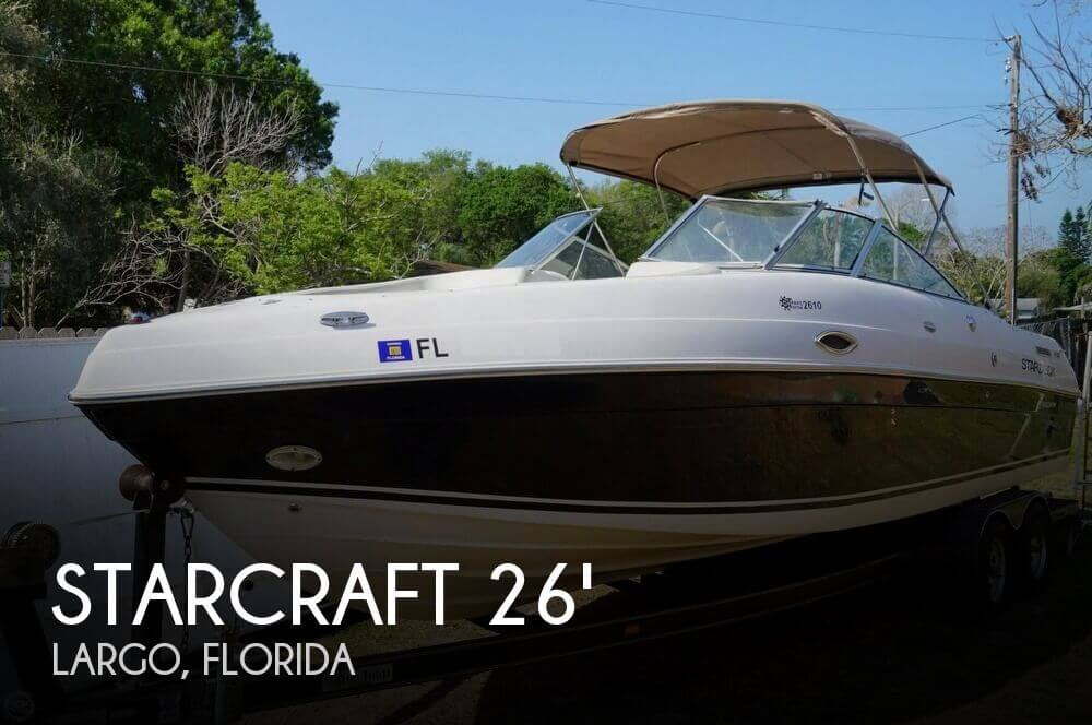 2002 STARCRAFT STARDECK 2610 TRAVIS EDITION for sale
