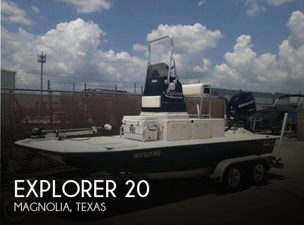 Used Explorer Boats For Sale by owner | 2006 Explorer 20