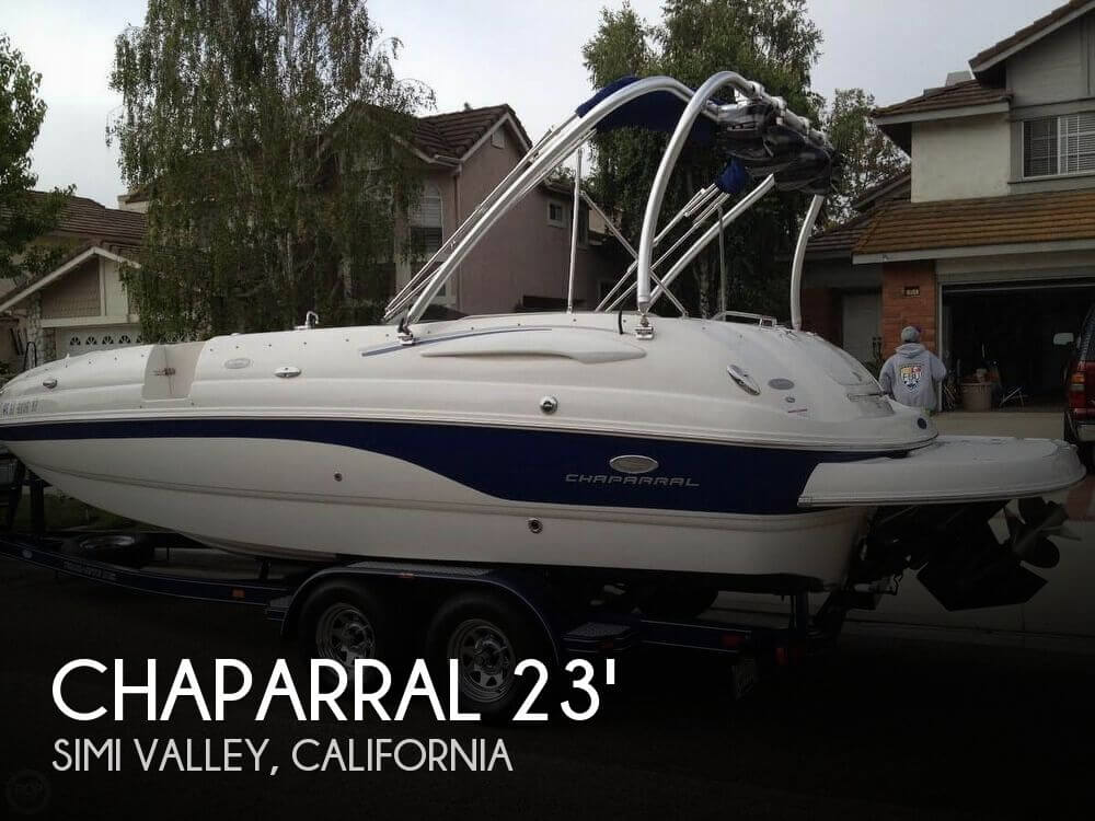 Used Chaparral Deck Boats For Sale by owner | 2006 Chaparral 24