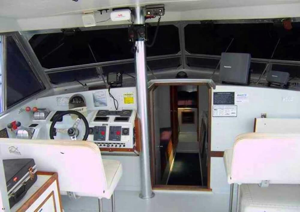 1985 Magnum Marine 380 Flybridge SF - Photo #10