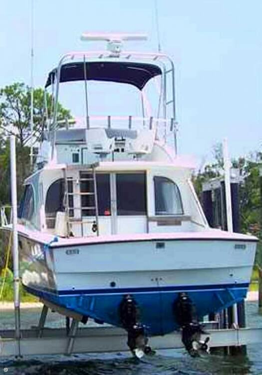 1985 Magnum Marine 380 Flybridge SF - Photo #9