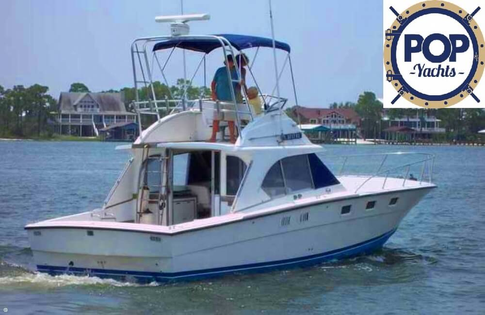 1985 Magnum Marine 380 Flybridge SF - Photo #5