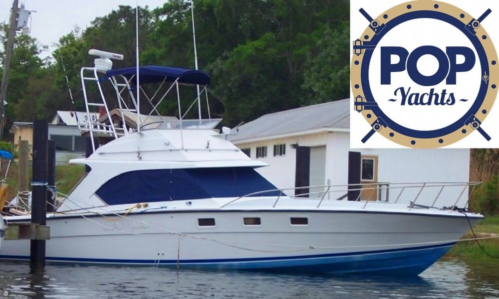 1985 Magnum Marine 380 Flybridge SF - Photo #3