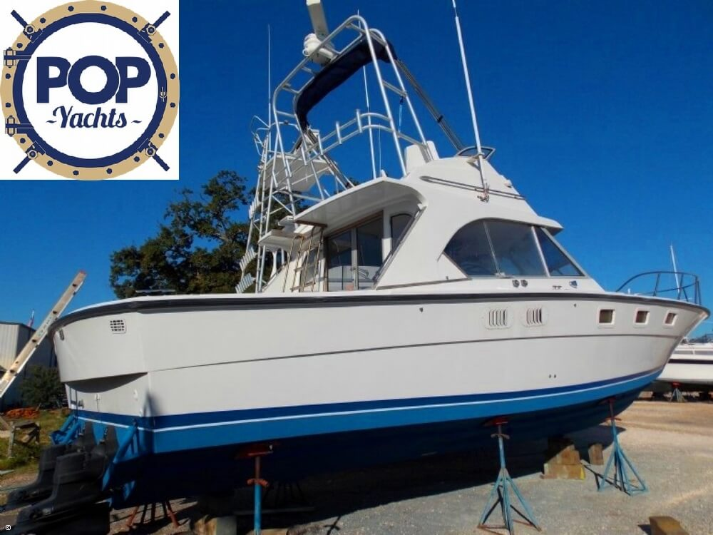 1985 Magnum Marine 380 Flybridge SF - Photo #4