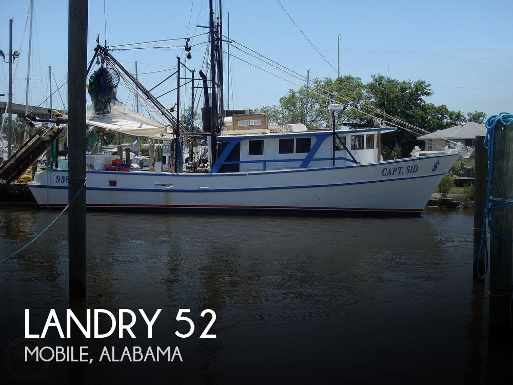1988 Landry boat for sale, model of the boat is 52 & Image # 1 of 40