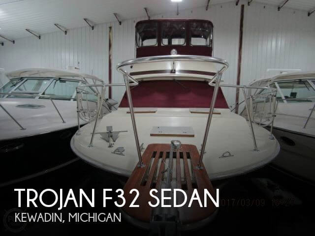 Used Motoryachts For Sale in Michigan by owner   1983 Trojan 36