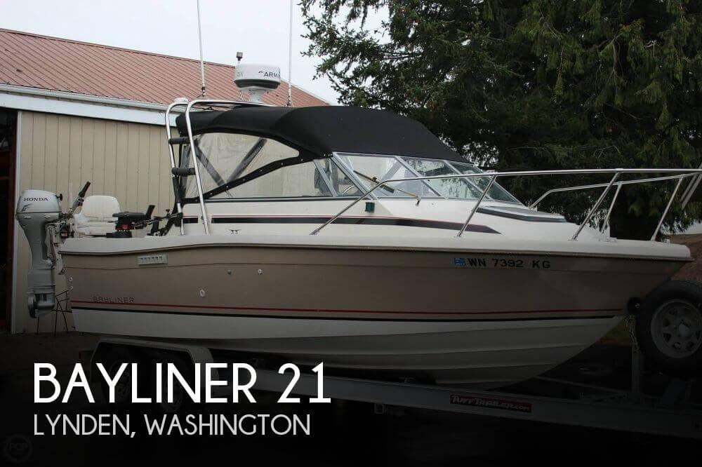 Used Bayliner 21 Boats For Sale by owner | 1985 Bayliner 21