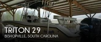 Used Boats For Sale in Columbia, South Carolina by owner | 2004 Triton 29