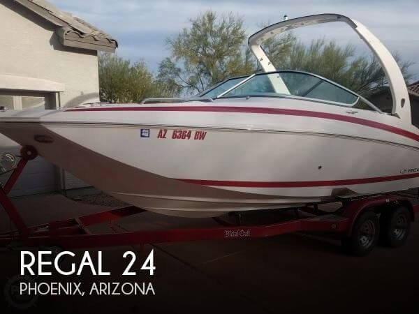 Used Boats For Sale in Phoenix, Arizona by owner | 2014 Regal 24