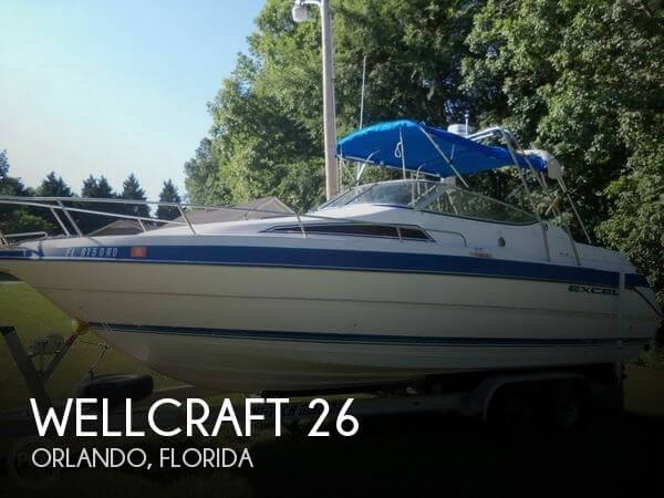 Used Wellcraft 26 Boats For Sale by owner | 1994 Wellcraft 26