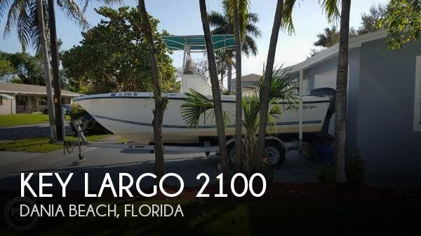Used Key largo Boats For Sale by owner | 2005 Key Largo 21