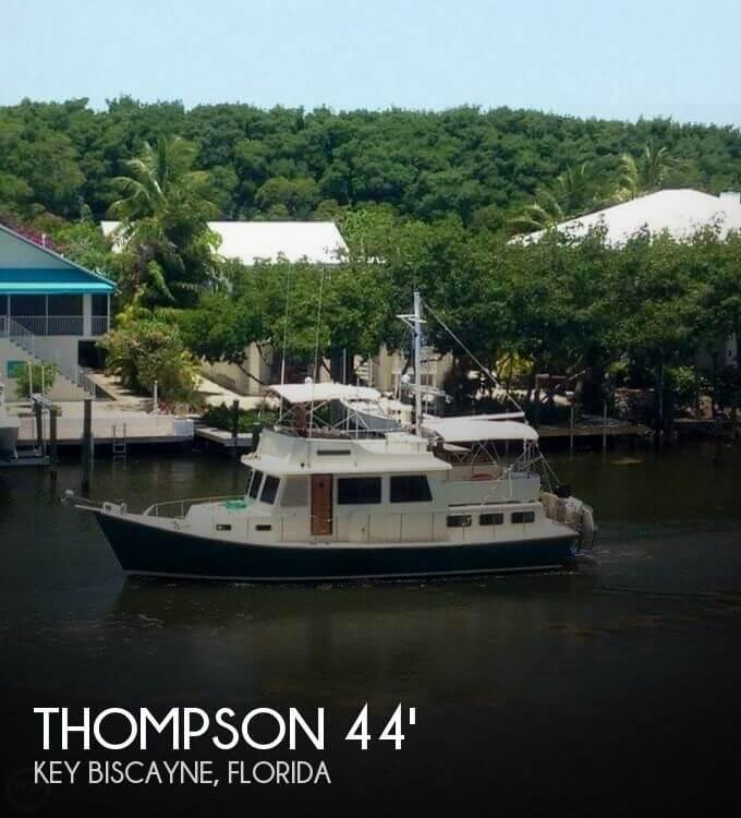 Used 1977 Thompson 44 Long Range Trawler For Sale