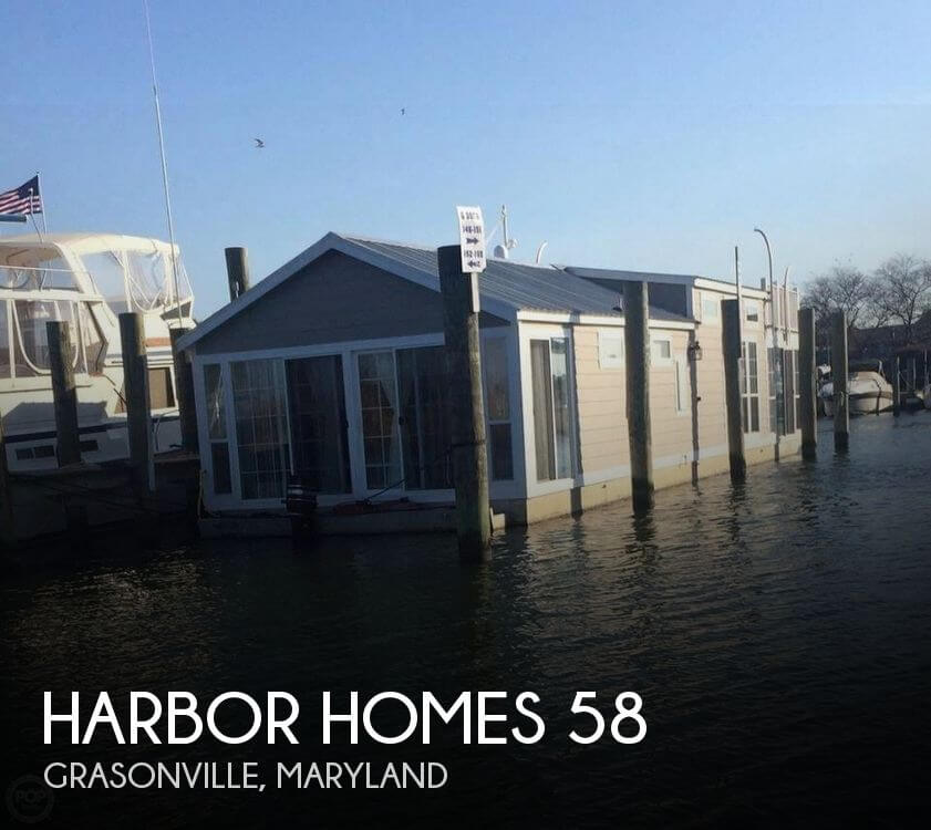 Used Boats For Sale in Maryland by owner | 2008 Harbor Homes 58