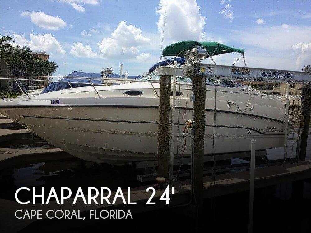 Used Chaparral 24 Boats For Sale by owner | 1999 Chaparral 24