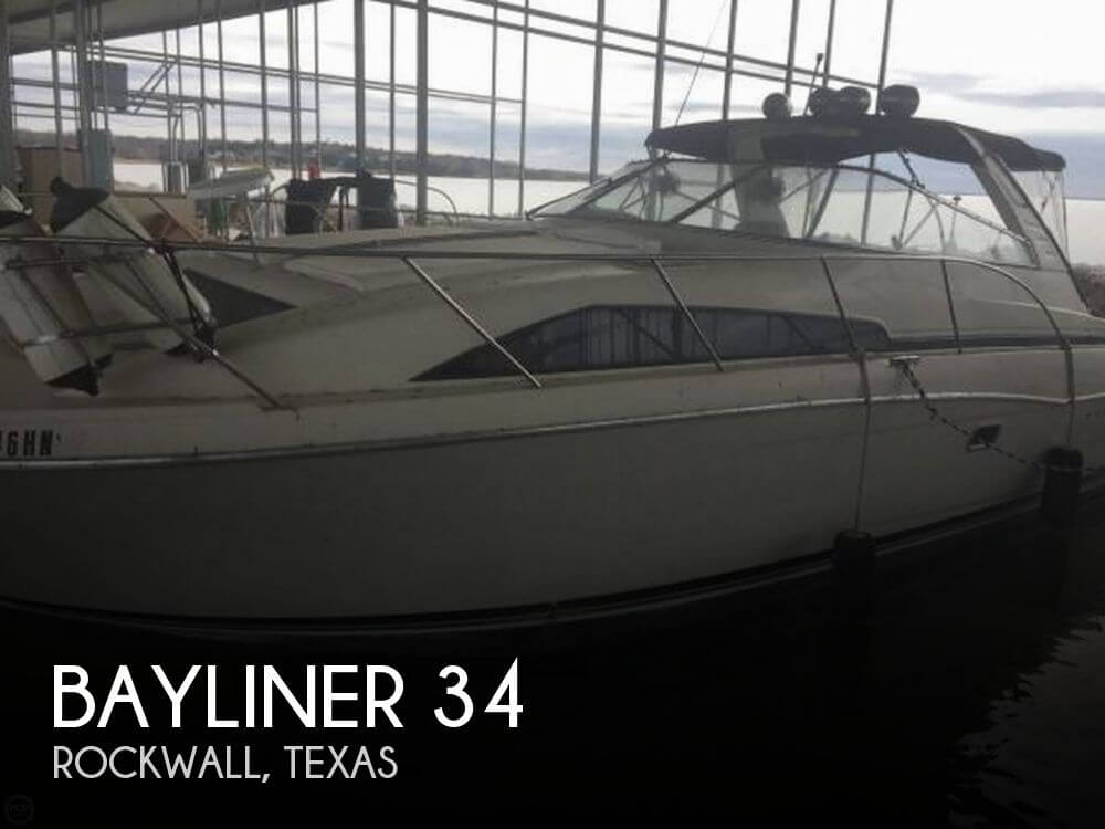 Used Bayliner Boats For Sale in Texas by owner   1995 Bayliner 34