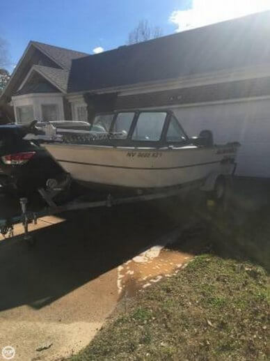 Alumaweld 17, 17', for sale - $20,500
