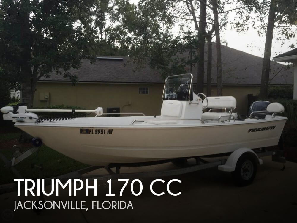 Sold triumph 170 cc boat in jacksonville fl 125797 for Center console fishing boats for sale