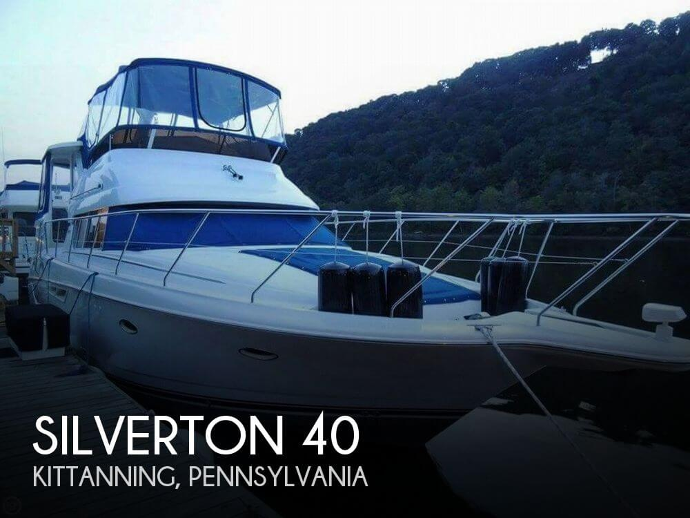 Used Boats For Sale in Youngstown, Ohio by owner | 1998 Silverton 40