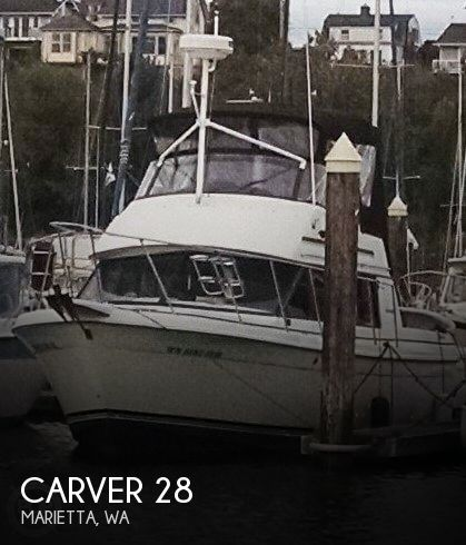Used Carver Boats For Sale in Washington by owner | 1983 Carver 28