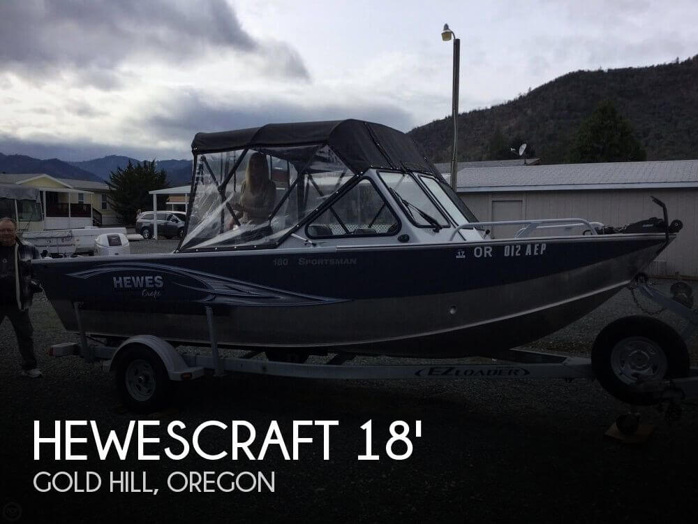 Used Boats For Sale in Medford, Oregon by owner | 2012 Hewescraft 18