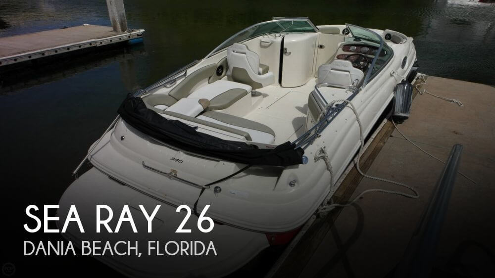 Used Sea Ray Deck Boats For Sale by owner | 2007 Sea Ray 26