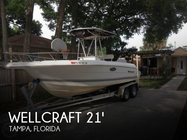 For Sale Used 2002 Wellcraft 210 Open Fisherman In Tampa