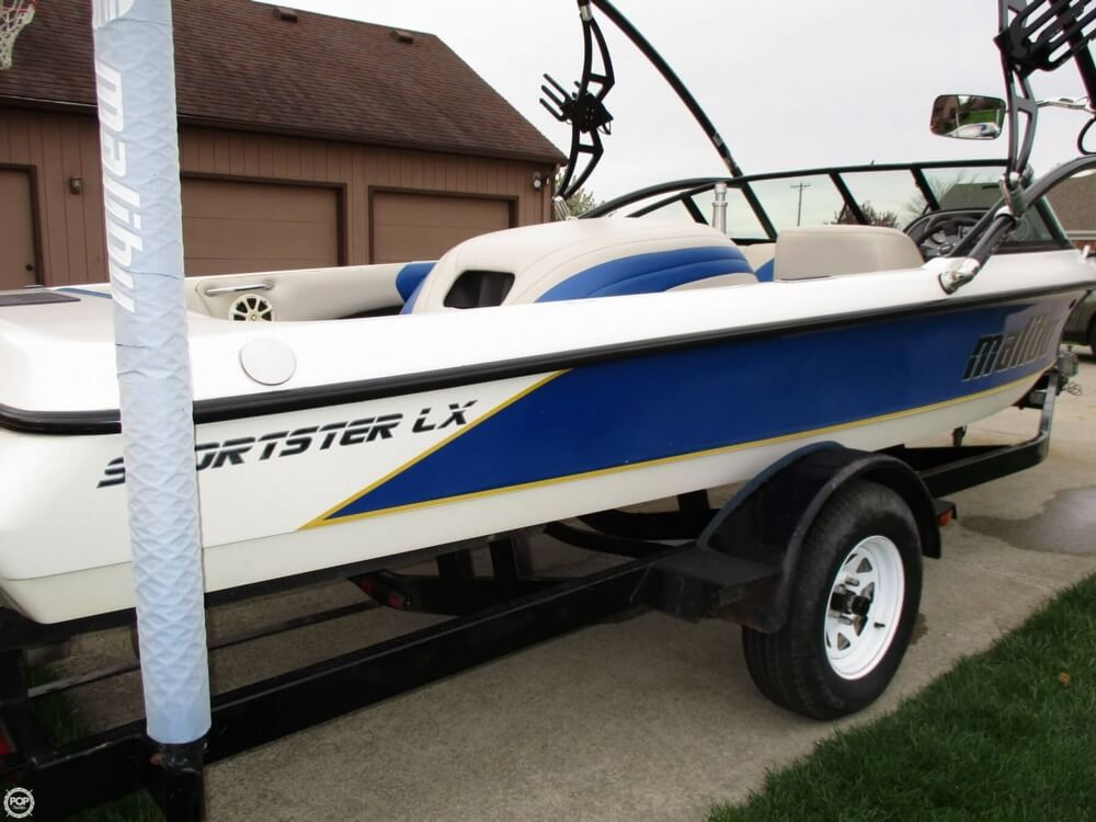 SOLD Malibu Sportster LX boat in Bowling Green OH 126046