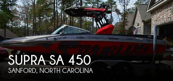 Used Boats For Sale in Raleigh, North Carolina by owner | 2014 Supra 23
