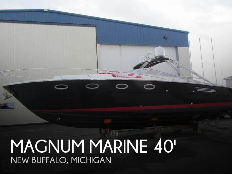 Used Magnum Marine Boats For Sale by owner | 1984 Magnum Marine 40