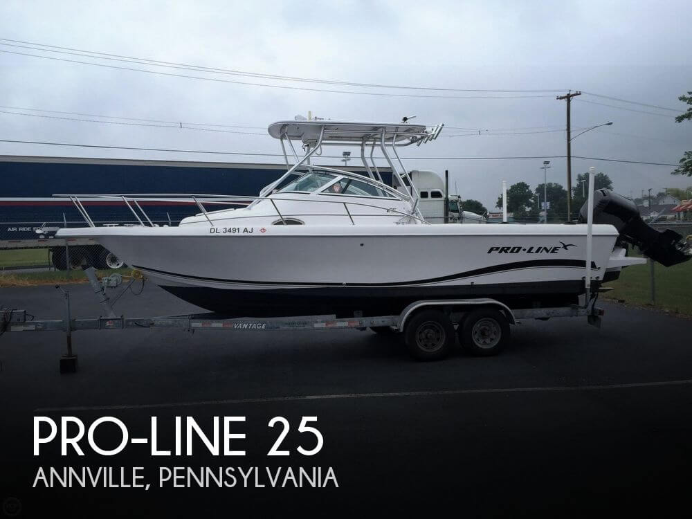 Pro line 25 for sale in annville pa for 27 900 pop yachts for Fishing line for sale