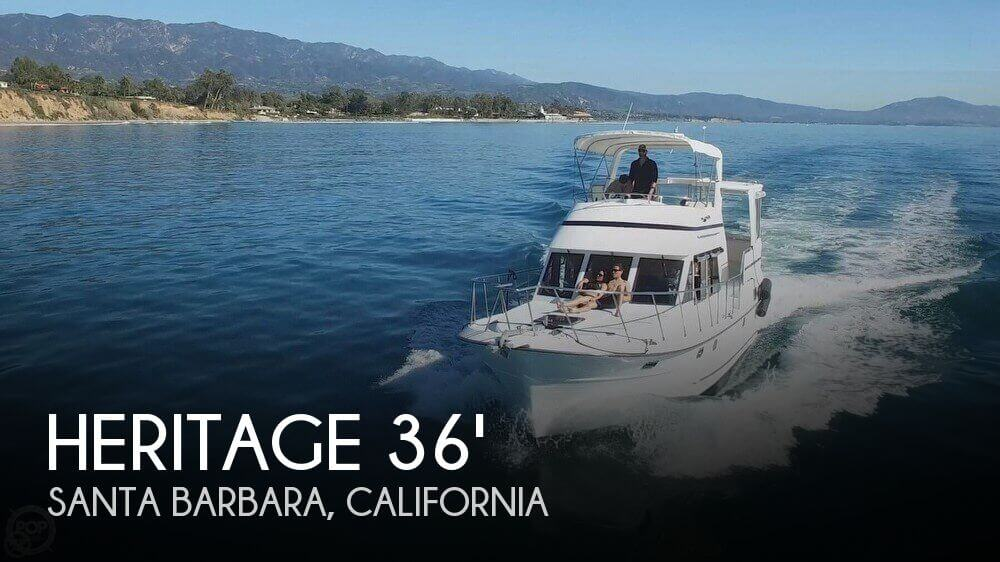 1999 Heritage boat for sale, model of the boat is East 36 Sundeck & Image # 1 of 40